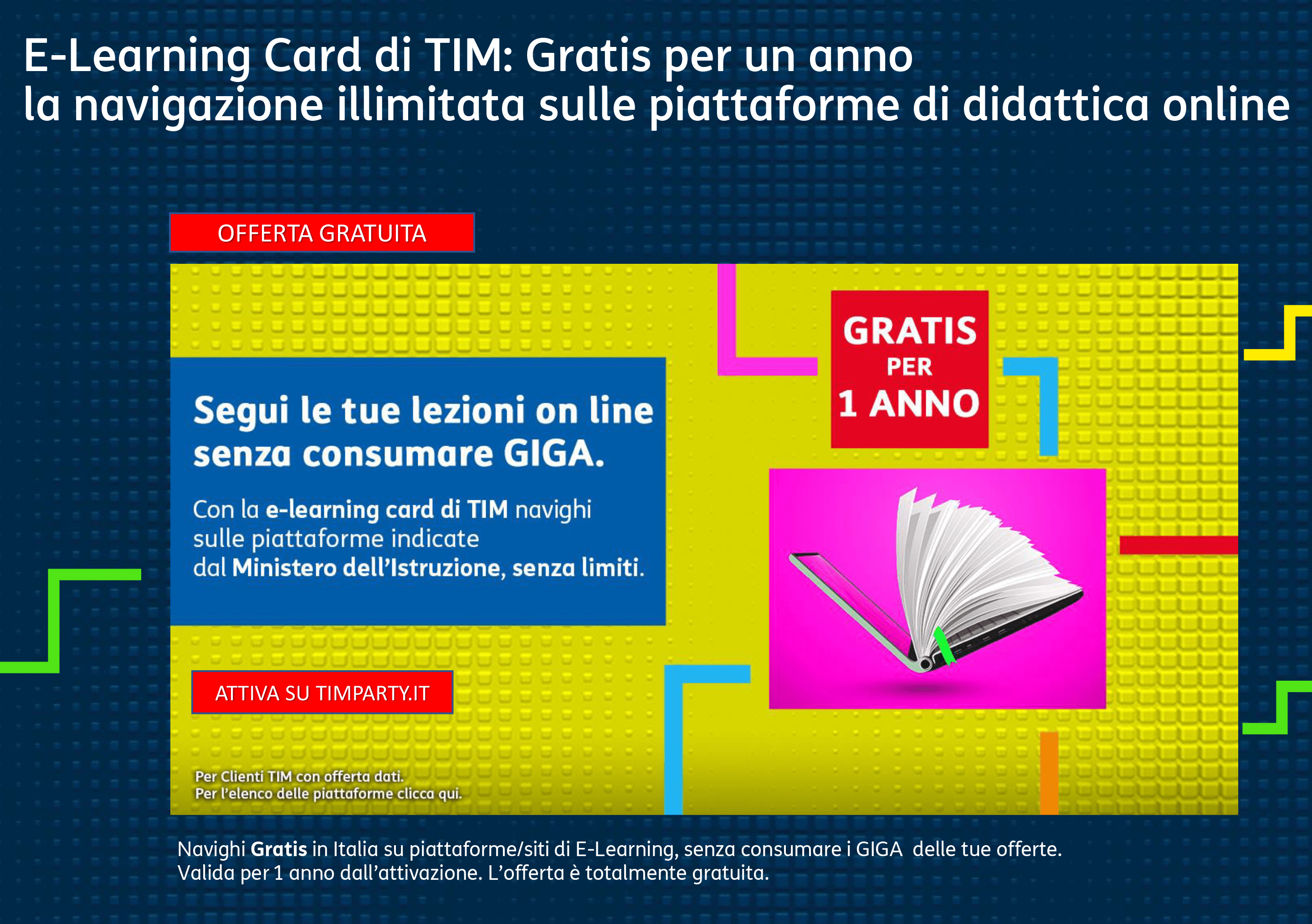 e-learning card TIM